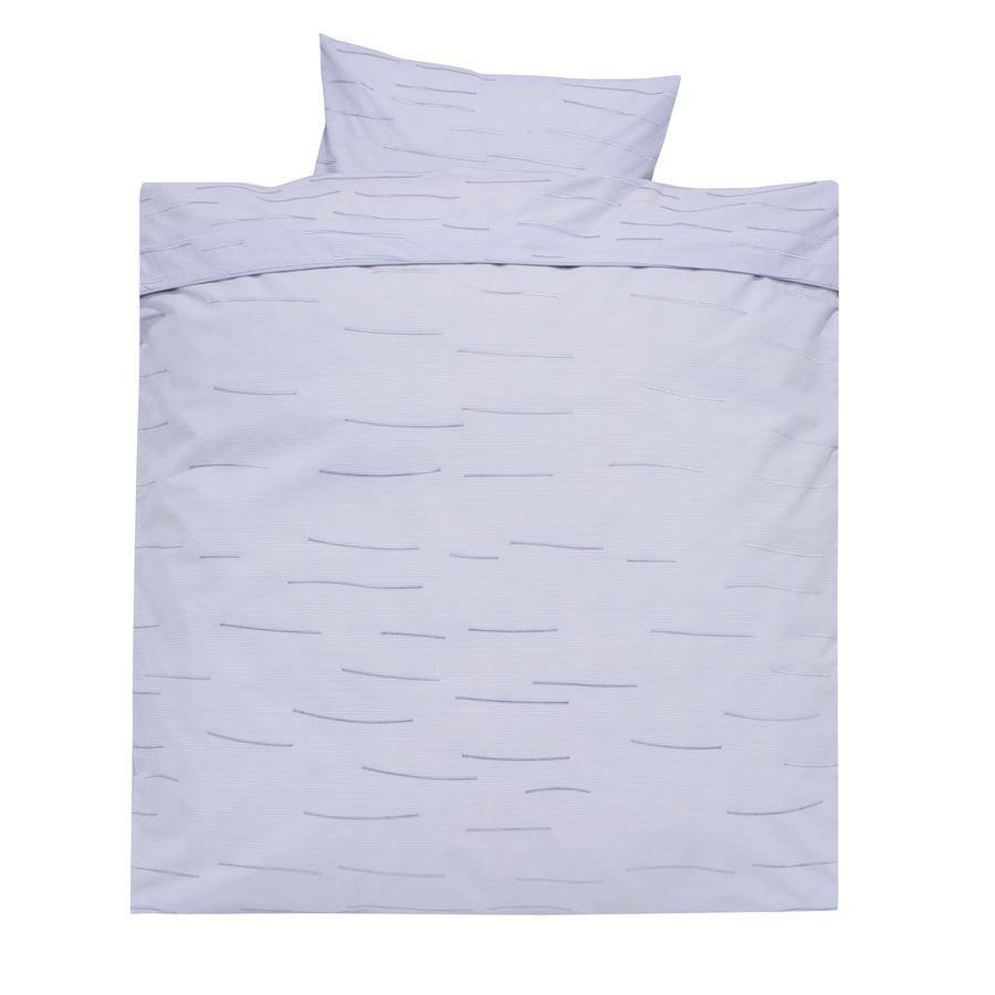 Alvi biancheria da letto 80 x 80 cm, strisce blue