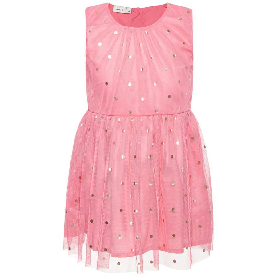 name it Girl s vestido Nmfsara bubblegum