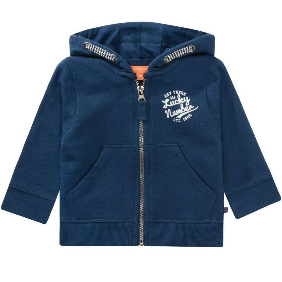 STACCATO Boys Sweat-shirt lavé bleu