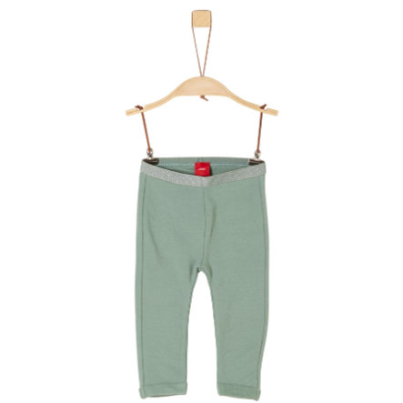 s.Oliver Girls Leggings dark mint