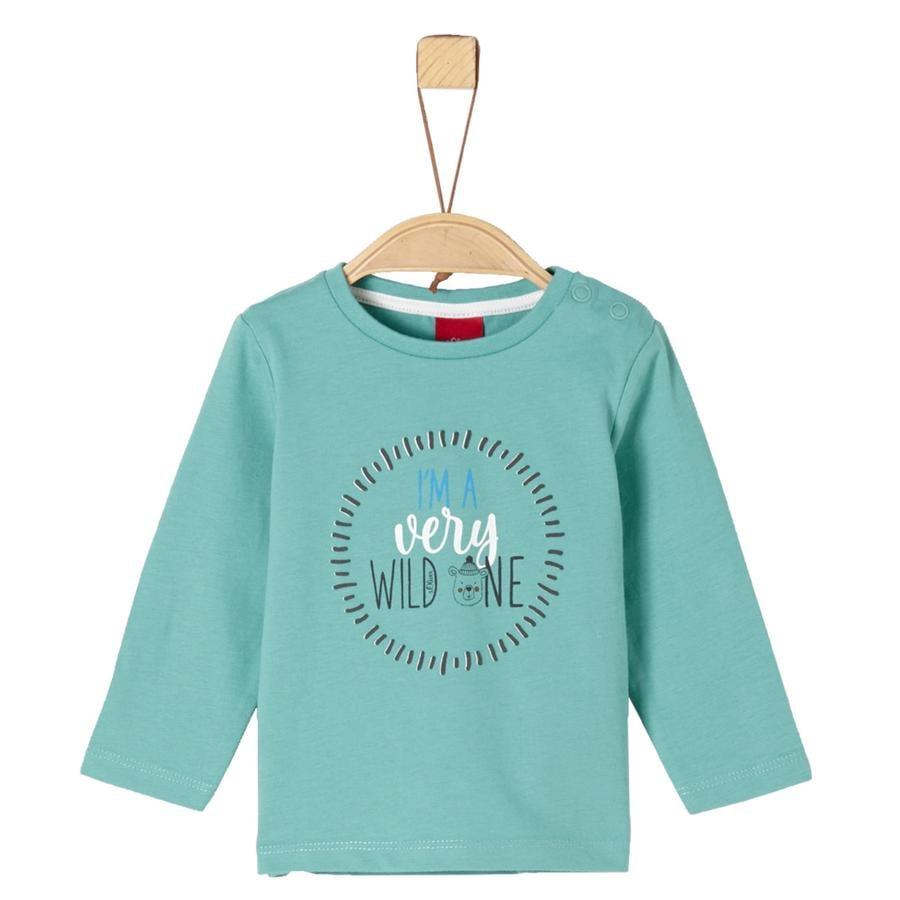s. Olive r Chlapecké tričko s dlouhým rukávem mint