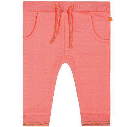 STACCATO Girl s pantalones de jogging soft rosa con estructura