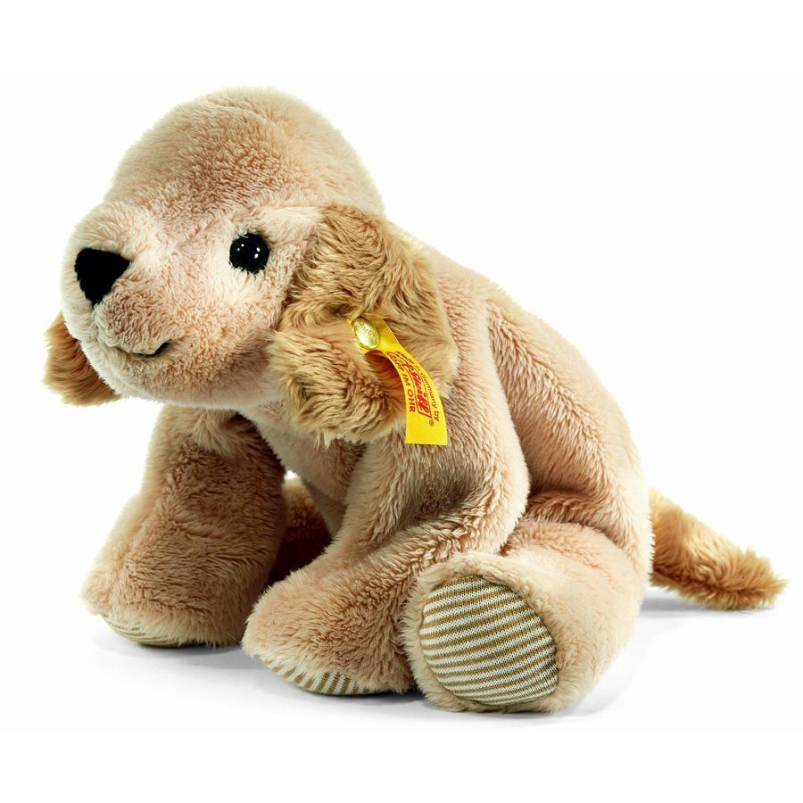 STEIFF Koiranpentu kultainennoutaja Floppy Lumpi, 16 cm