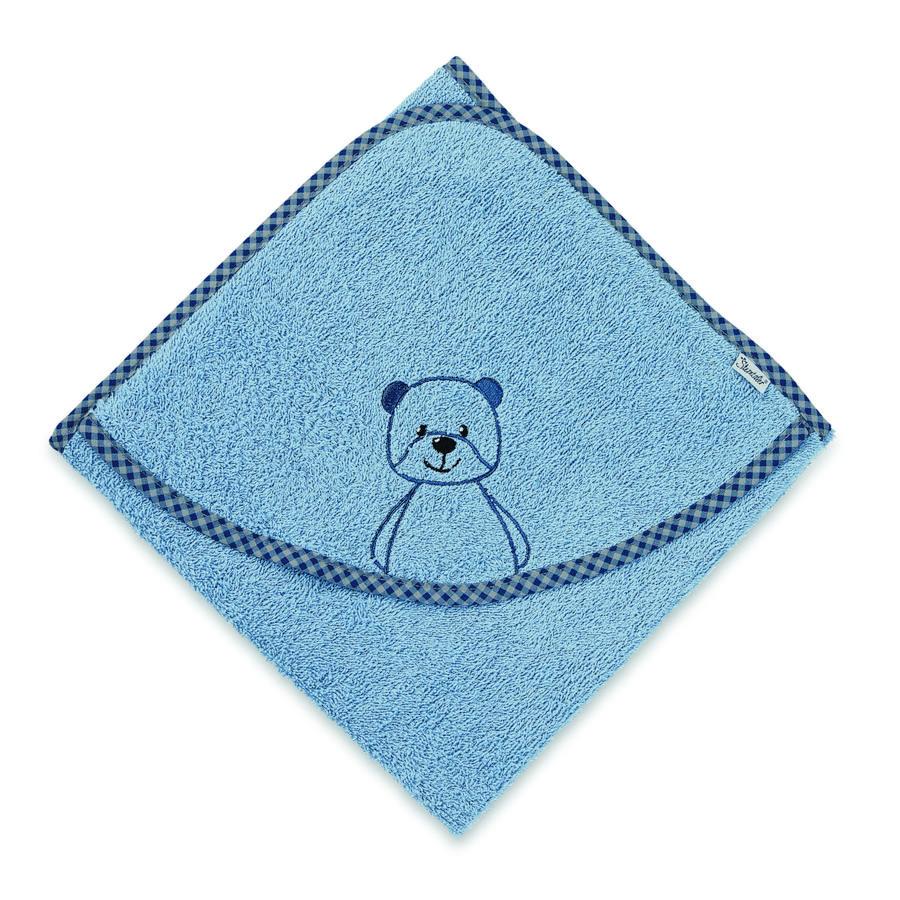 Sterntaler Badetuch Terrybär Baylee puder blue 100 x 100 cm