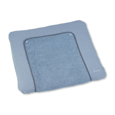 Sterntaler Poudre d'ours Baylee pour Terry tapis à langer blue