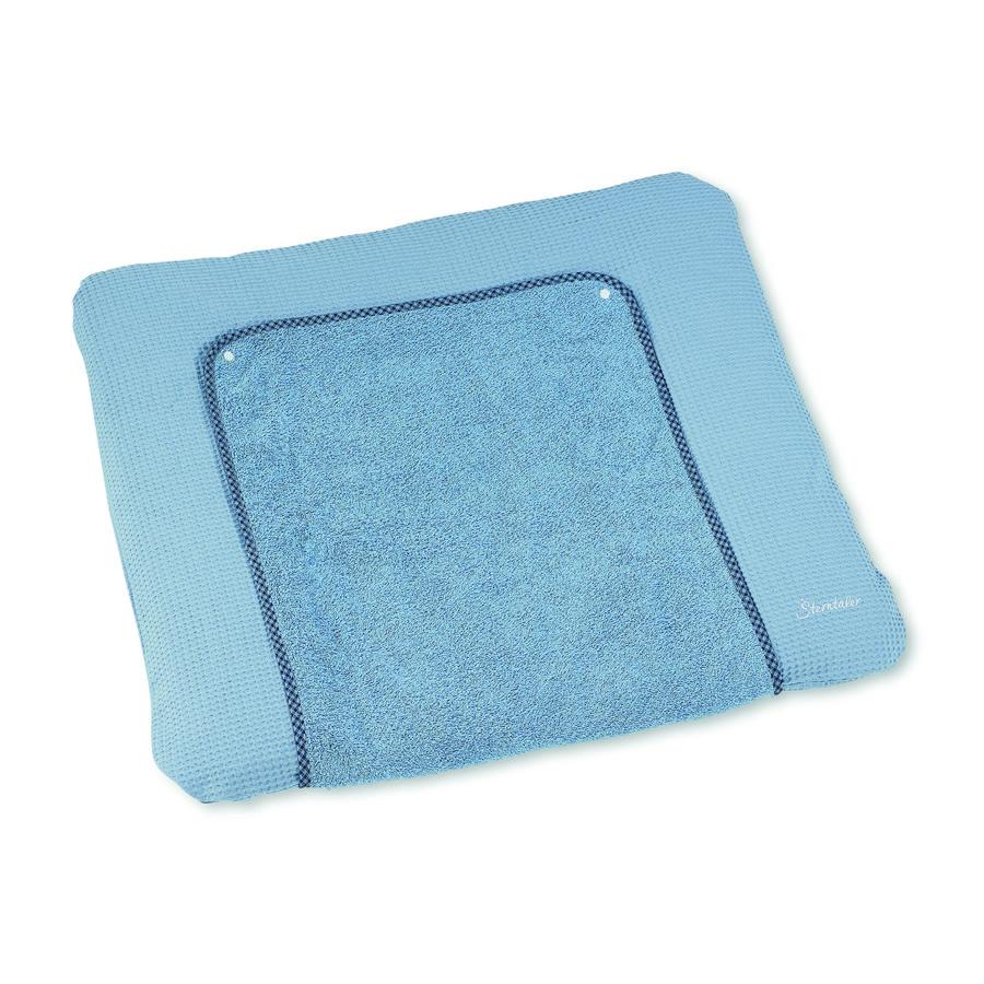 Sterntaler Wickelauflagenbezug Terrybär Baylee puder blue