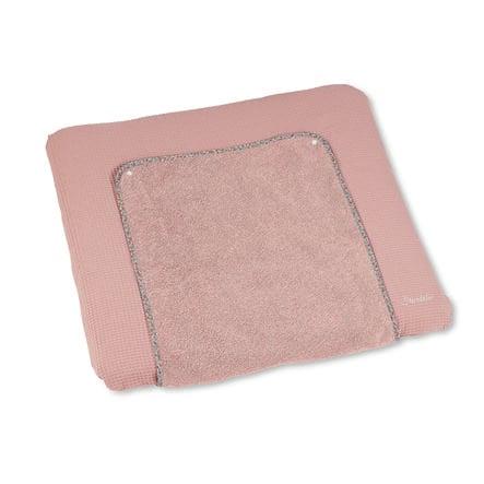 Sterntaler Tapa de la alfombrilla cambiador Terry con Baylee polvo de oso rosa