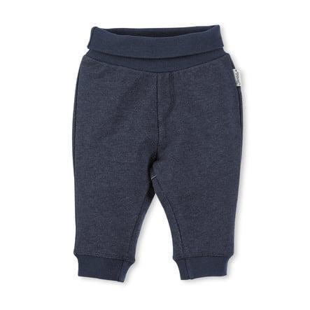 Sterntaler pantalones de peluche Baylee azul marino