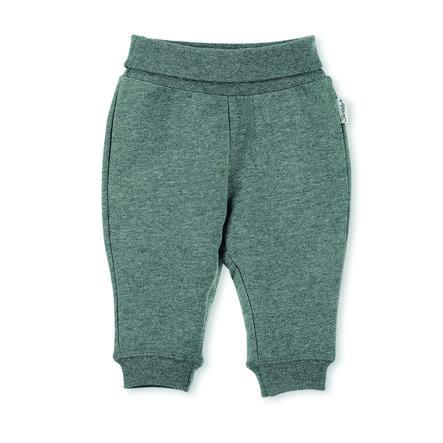 Sterntaler pantaloni rompicapo Baylee verde affumicato grigio melange