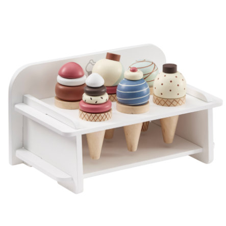 Kids Concept® Marchand de glaces 7 pièces bois