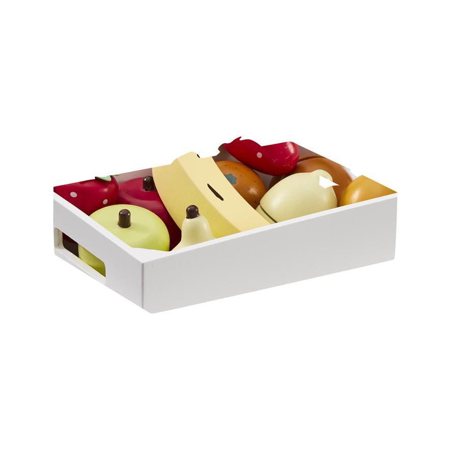 Děti koncept Smíšené ovocné bedny