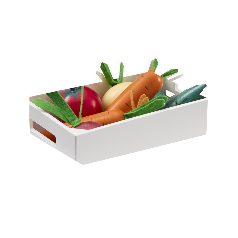 Kids Concept® gemengde groentekrat