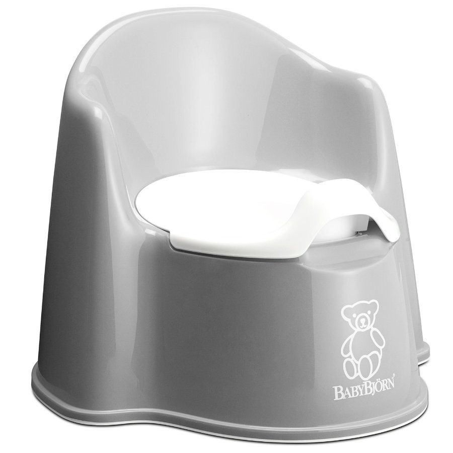 BABYBJÖRN Potty Trainer Potty Chair Grey