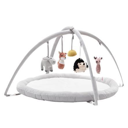 Kids Concept® Babygym Edvin, hvit/grå