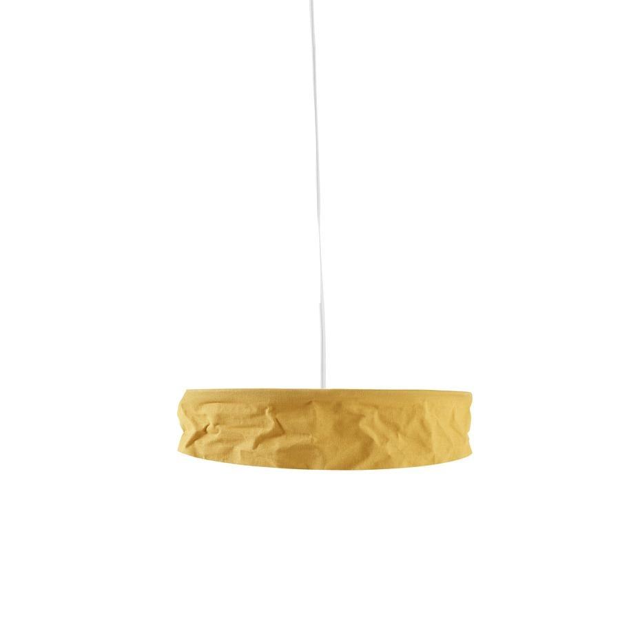 Děti koncept stínidlo tečka, žlutá