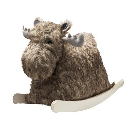 Kids Concept® Animal à bascule élan Bo, bois
