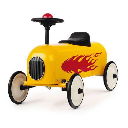 Baghera Porteur enfant Racer flamme jaune