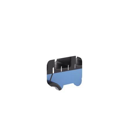 Kids Concept® Bus Aiden bleu/noir bois