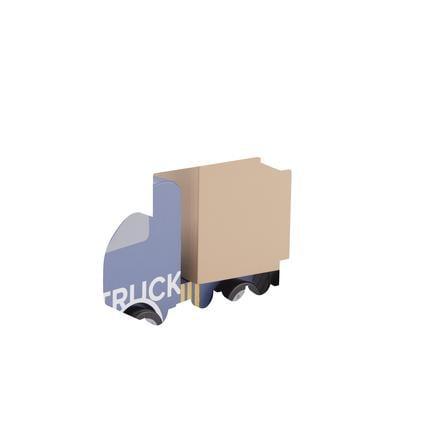 Kids Concept® Camion semi-remorque Aiden bleu bois