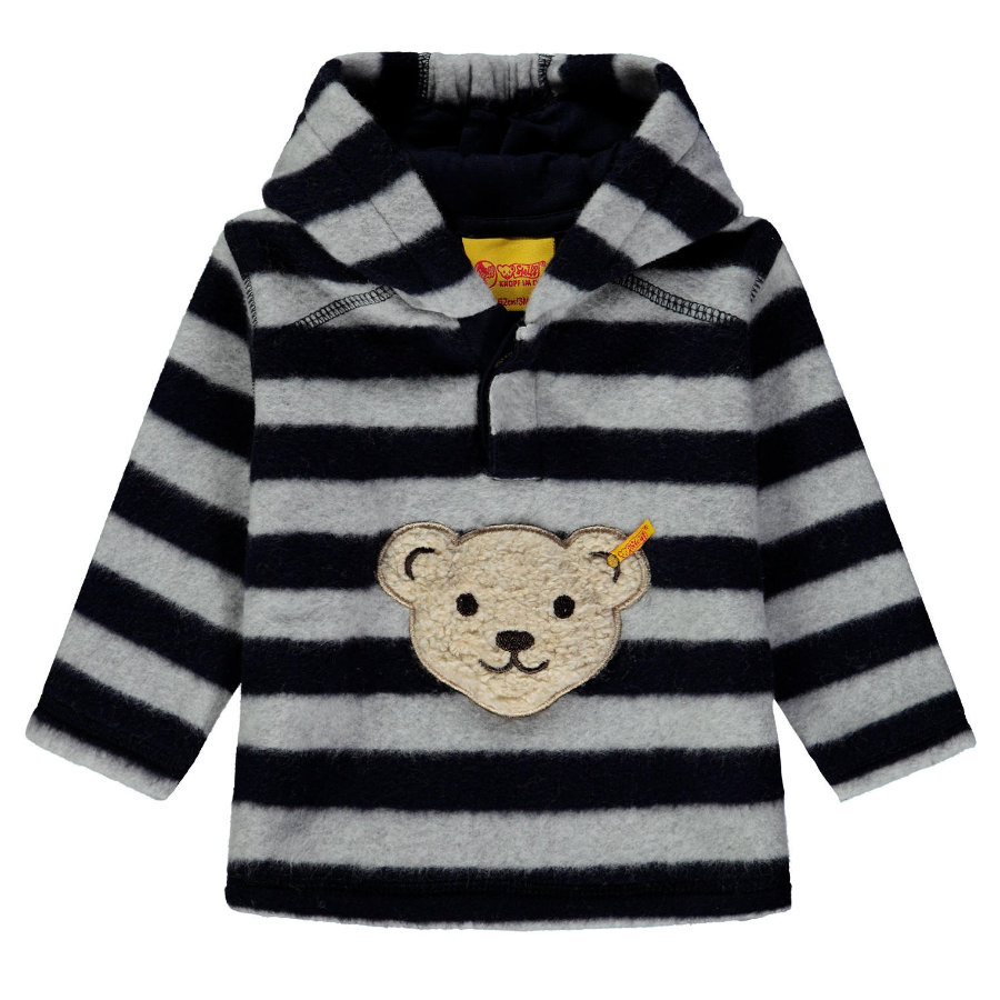 Steiff Sweatshirt Fleece, bleu