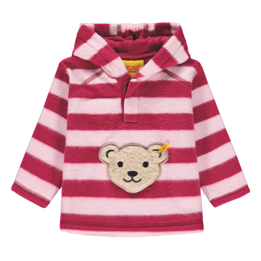Steiff Sweatshirt Fleece, rood