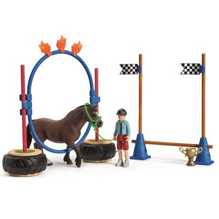 Schleich Figurine Pony Agility Race 42482