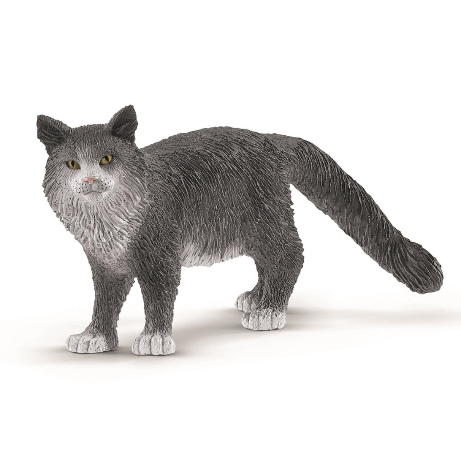 Schleich Figurine chat Maine Coon 13893