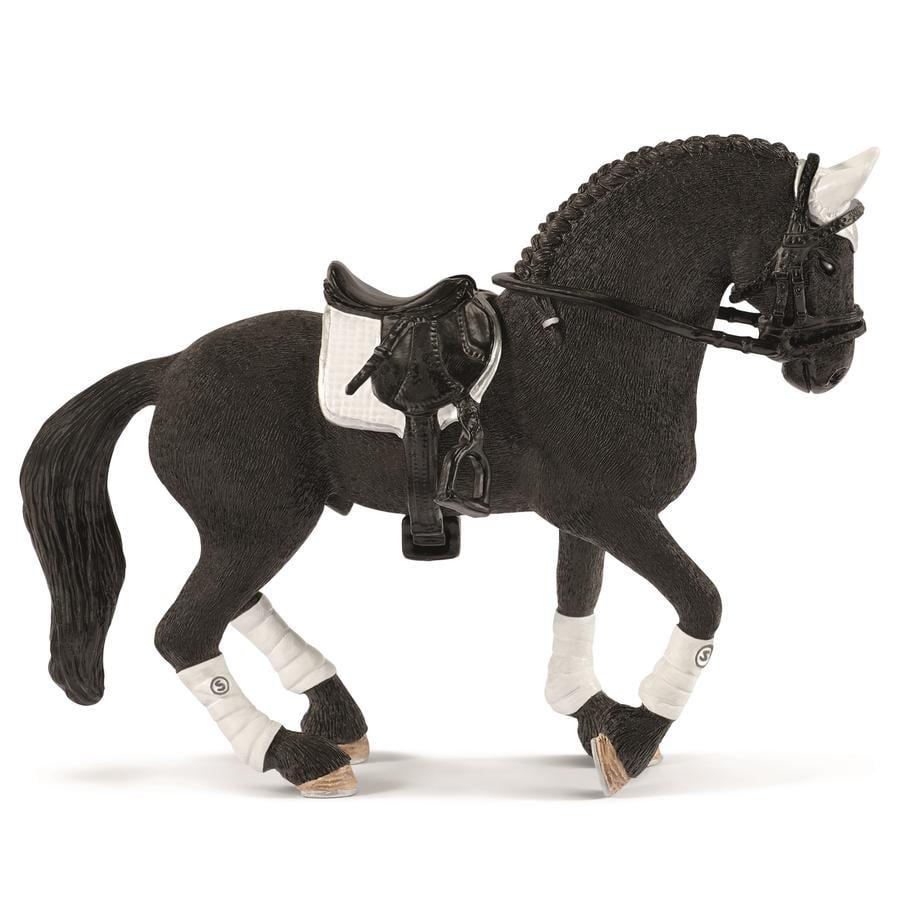 Schleich Figurine étalon Frison concours équestre 42457