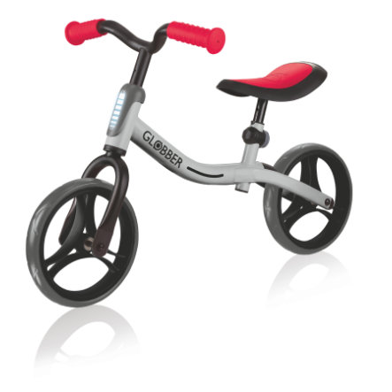 AUTHENTIC SPORTS Globber Go Bike zilver-rood