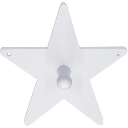 KIDS CONCEPT Naulakko Star, 14 cm, valkoinen