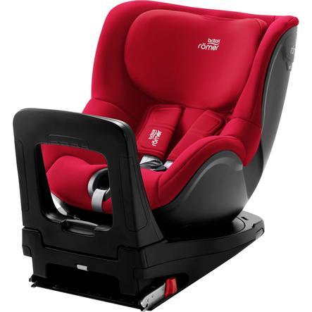 Britax Römer Kindersitz Dualfix i-Size Fire Red
