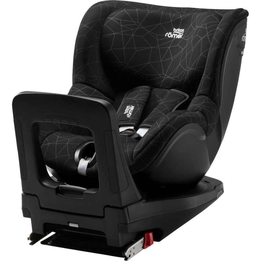 britax r mer kindersitz dualfix i size crystal black. Black Bedroom Furniture Sets. Home Design Ideas