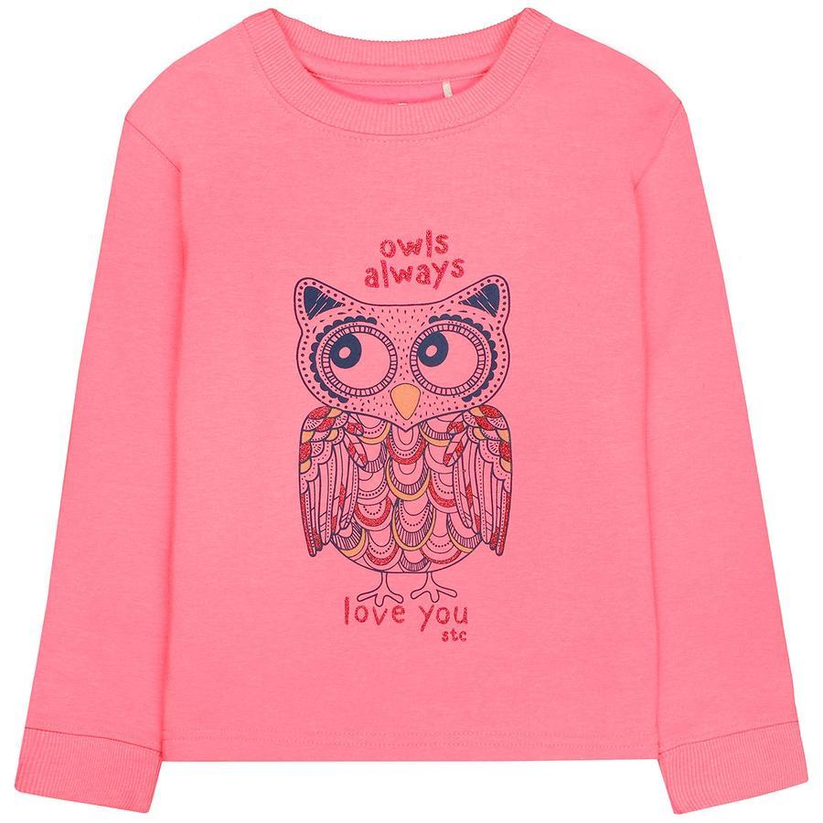 STACCATO Sweatshirt för flickor blixtrosa