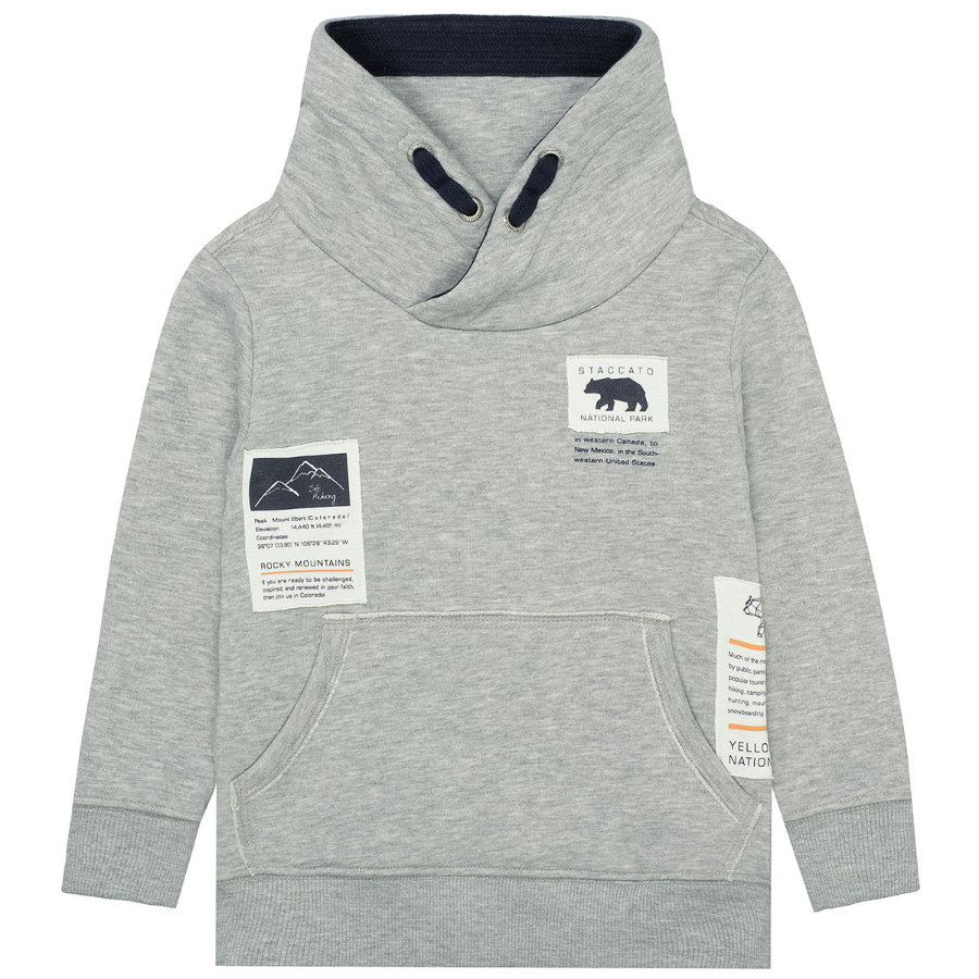 STACCATO Boys Sweatshirt warm grey melange