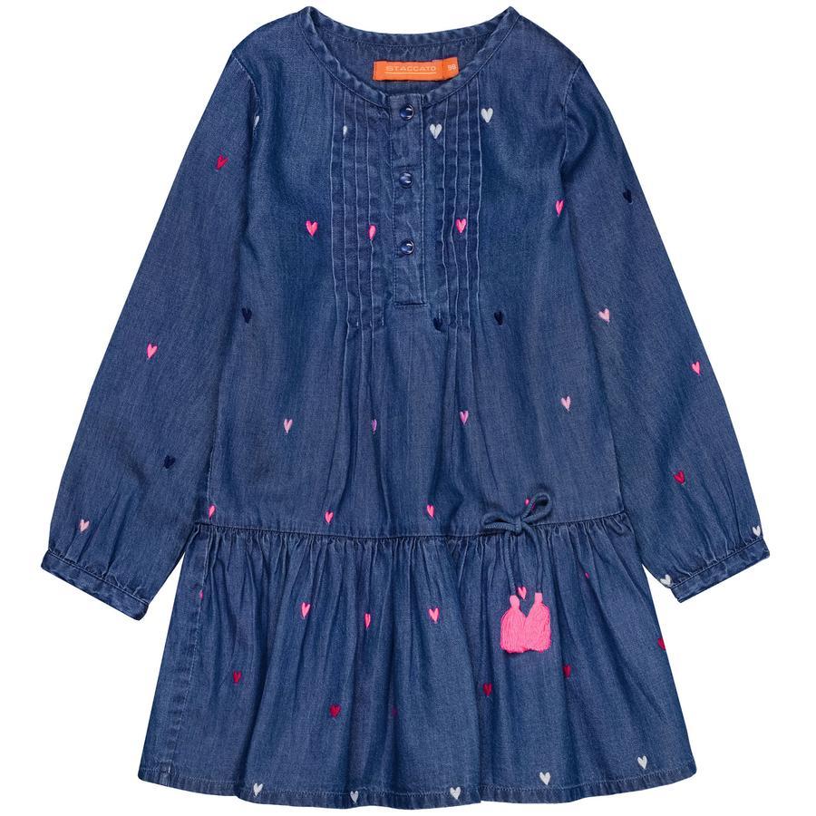 STACCATO Girl s robe mid blue denim