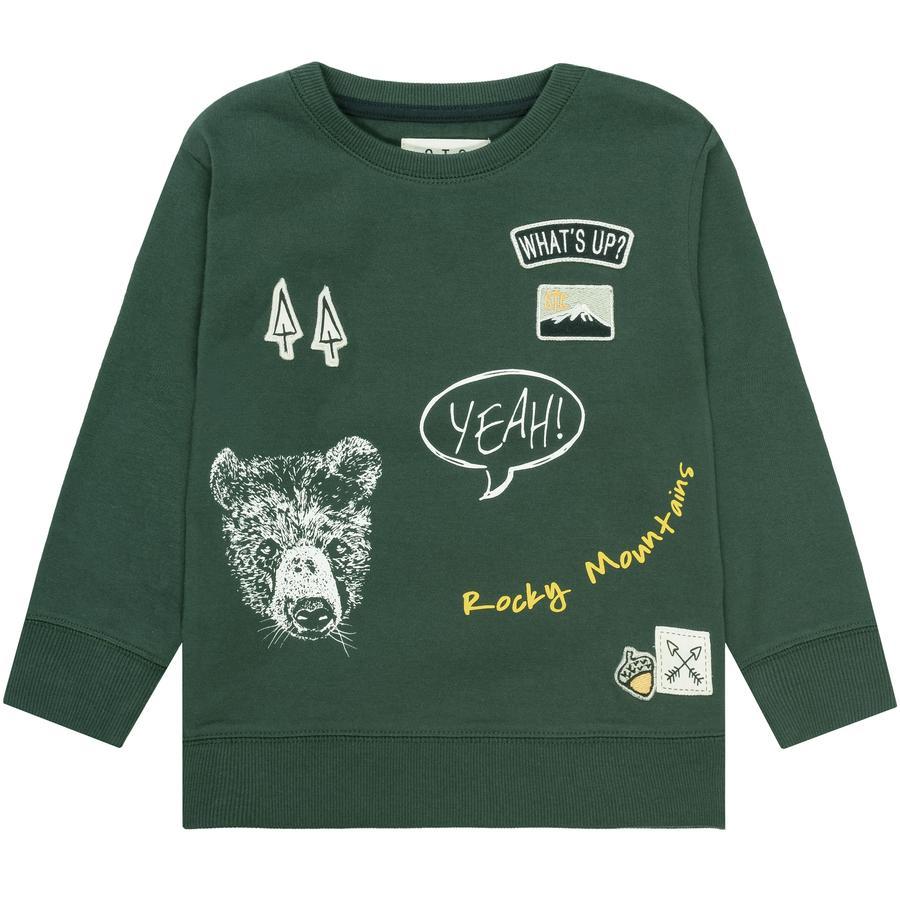 STACCATO Boys Shirt dark green