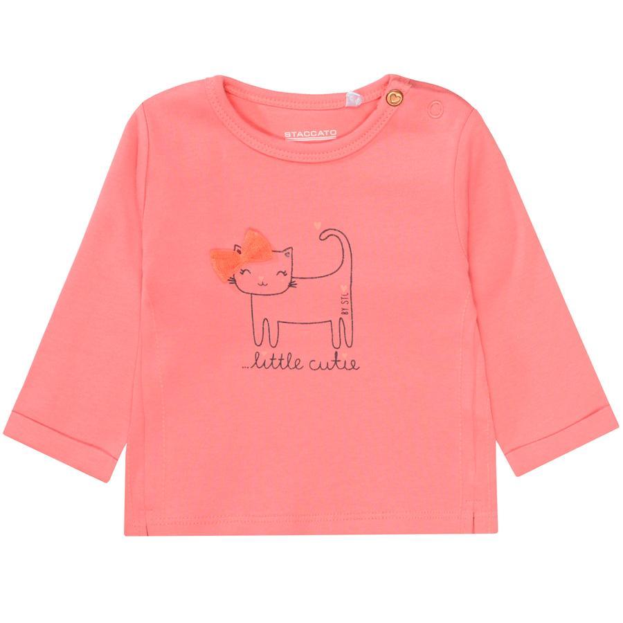STACCATO Girl s koszula z długim rękawem soft różowa