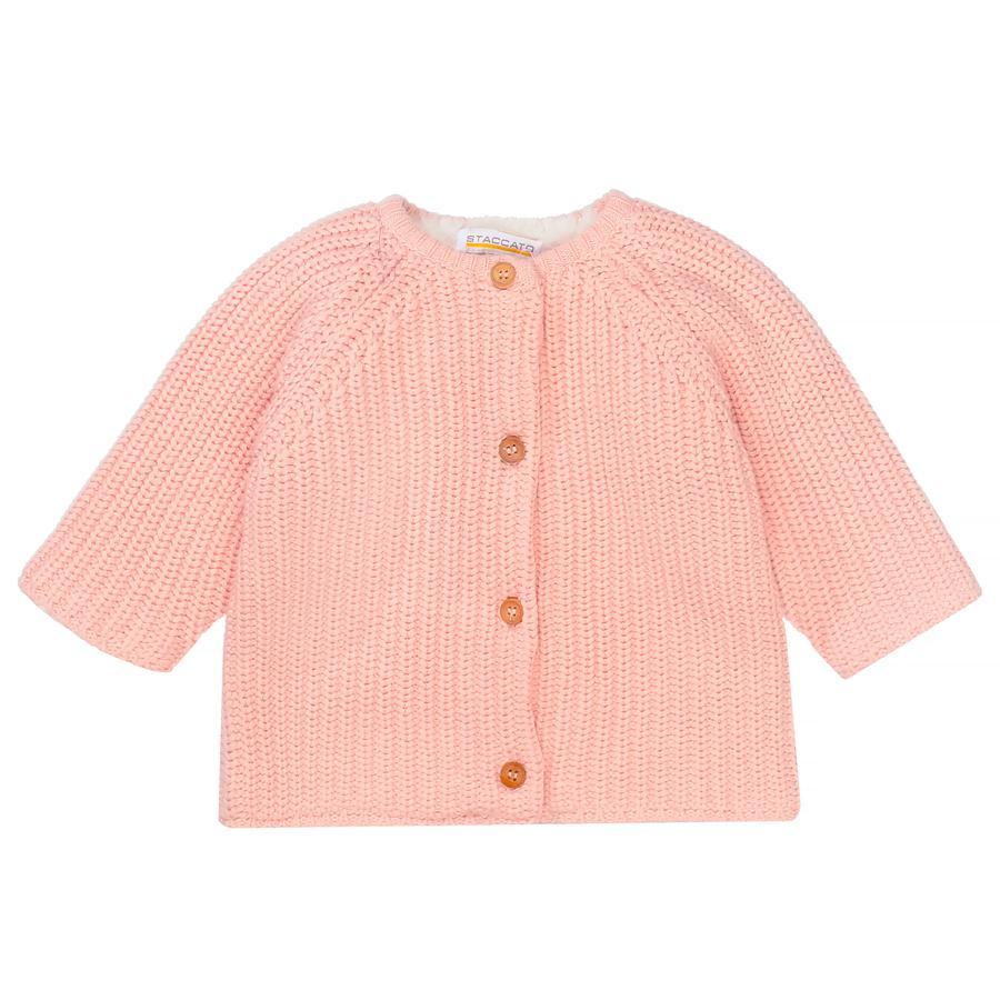 STACCATO Girl s cardigan plush blush melange