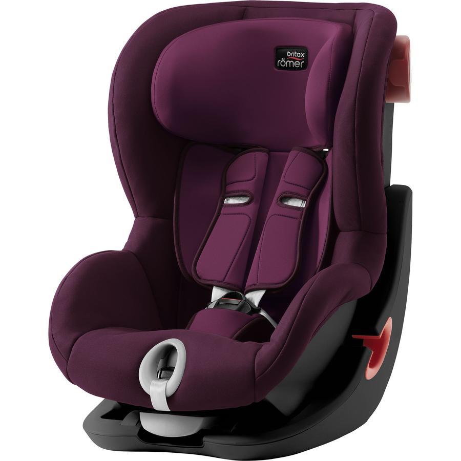 britax r mer kindersitz king ii black series burgundy red. Black Bedroom Furniture Sets. Home Design Ideas