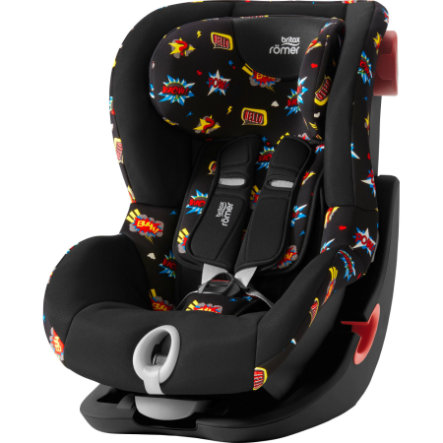 Britax Römer Kindersitz King II Black Series Comic Fun