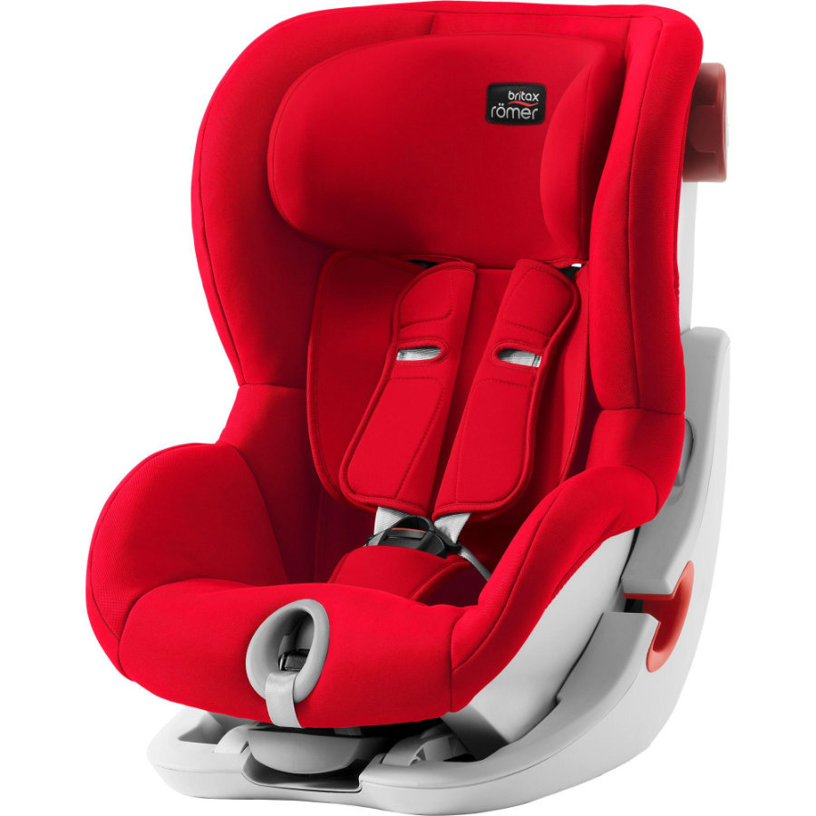 Britax Römer Siège auto King II groupe 1 Fire red, 2019