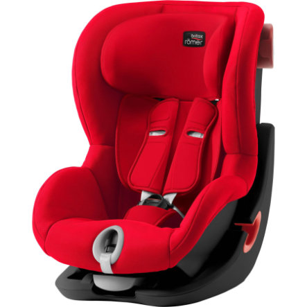 Britax Bilbarnstol King II Black Series Fire Red