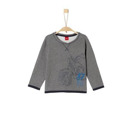 s.Oliver Boys Sweatshirt grijs melange