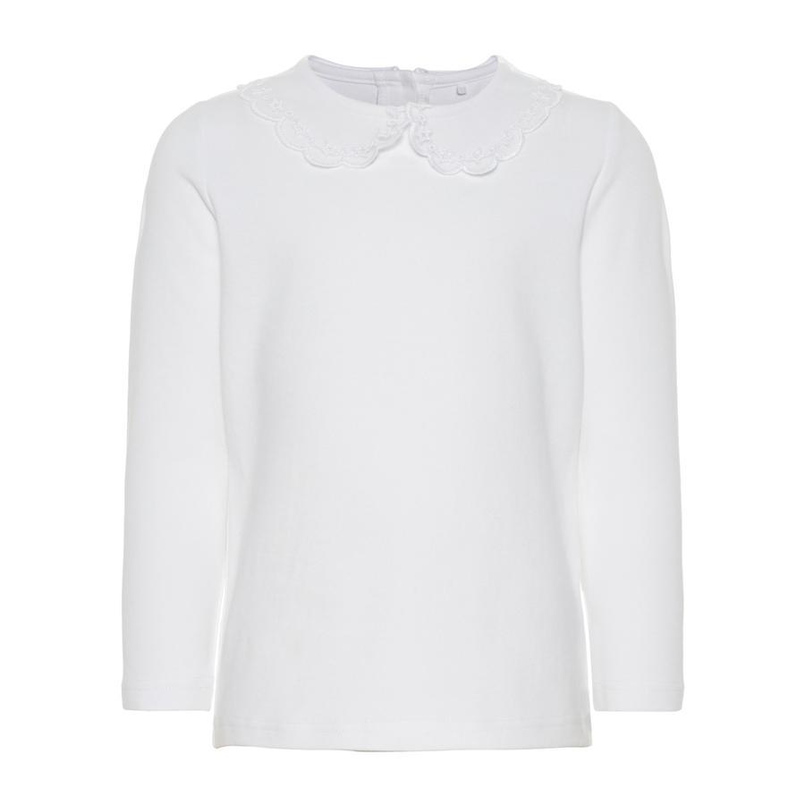 name it Girl s shirt met lange mouwen helder wit