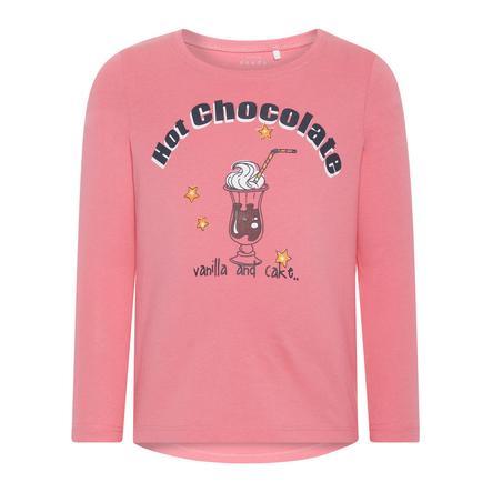 name it Girl s Overhemd met lange mouwen Veen bubblegum