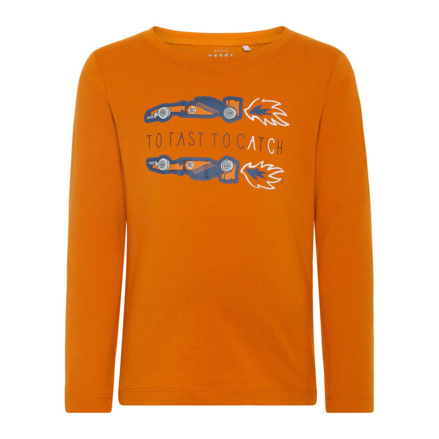 name it Chlapecké tričko s dlouhým rukávem Victor autumn maple