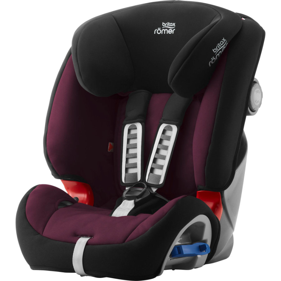 Britax Römer Siège auto Multi-Tech III groupe 1/2 Burgundy red, 2019