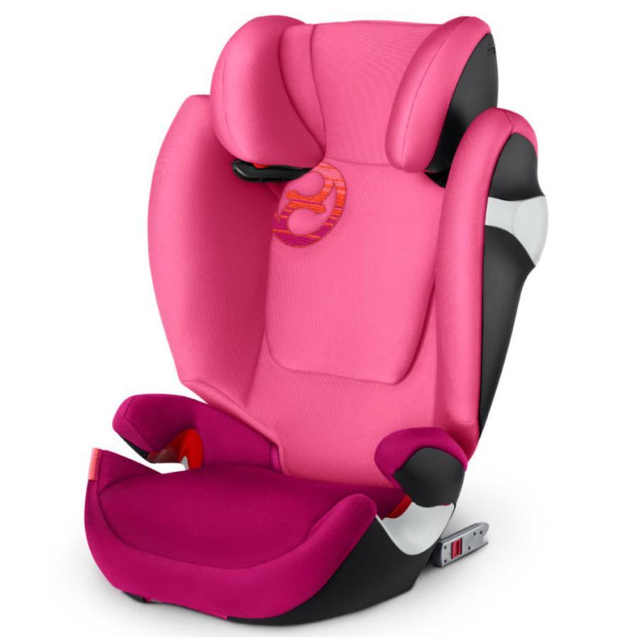 cybex GOLD Silla de coche Solution M-fix Passion Rosa - púrpura