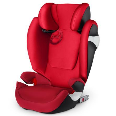 cybex GOLD Kindersitz Solution M-fix Rebel Red-red