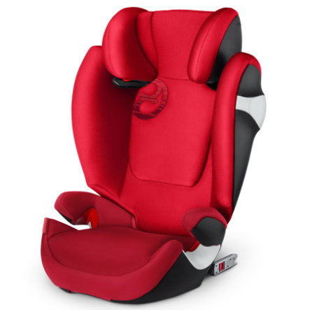 cybex GOLD Silla de coche Solution M-fix Rebel Red-red